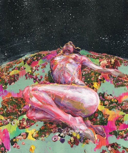 good night artwork by jon swartz